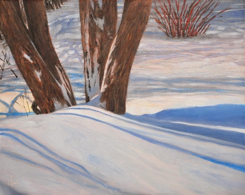 """New Snow"" original fine art by Gary Westlake"