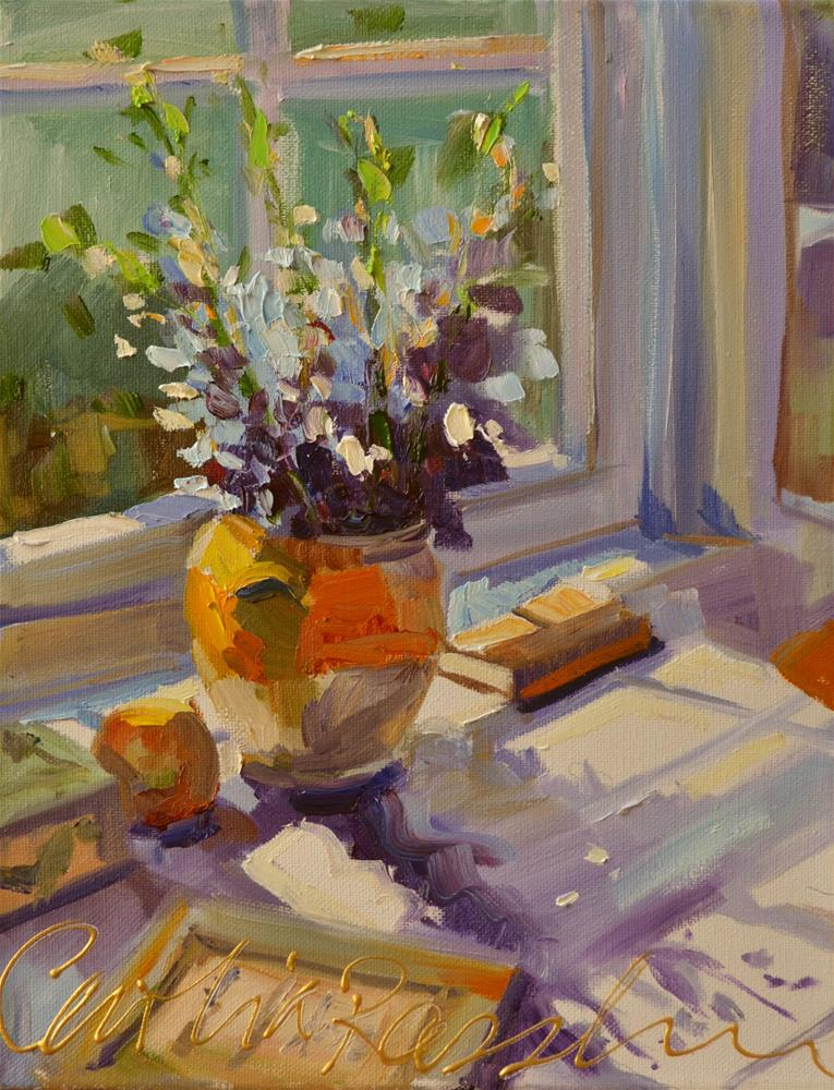 """MIDDAGSON"" original fine art by Cecilia Rosslee"