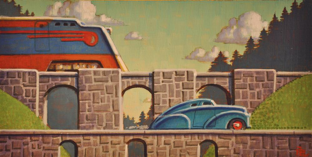 """Horsepower"" original fine art by Robert LaDuke"