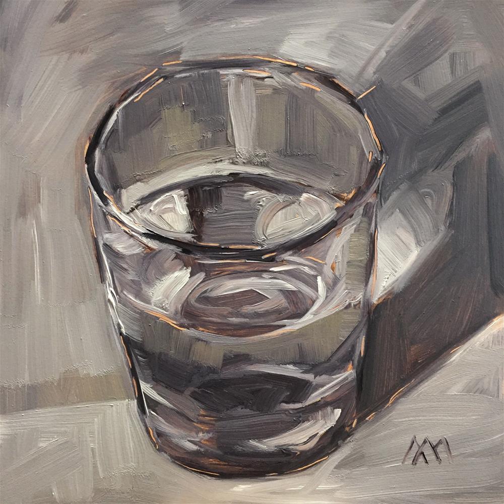 """Half Full"" original fine art by Austin Maloney"