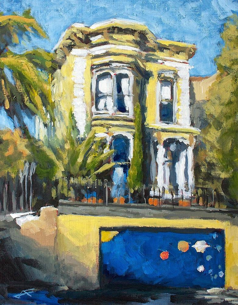 """South Van Ness"" original fine art by J. Farnsworth"