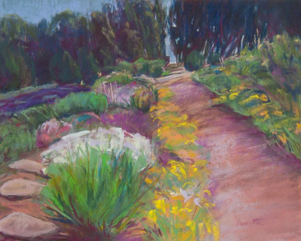"""The Path of My Choosing"" original fine art by Sarah Peroutka"