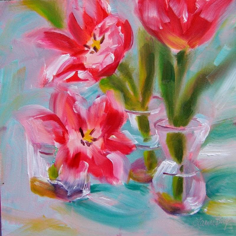 """Glass Slippers - 158"" original fine art by Laura  Buxo"