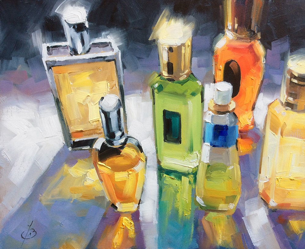 """""""""""MAKING SCENTS OF IT ALL"""""""" original fine art by Tom Brown"""