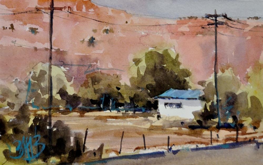 """Early Evening"" original fine art by Brienne M Brown"