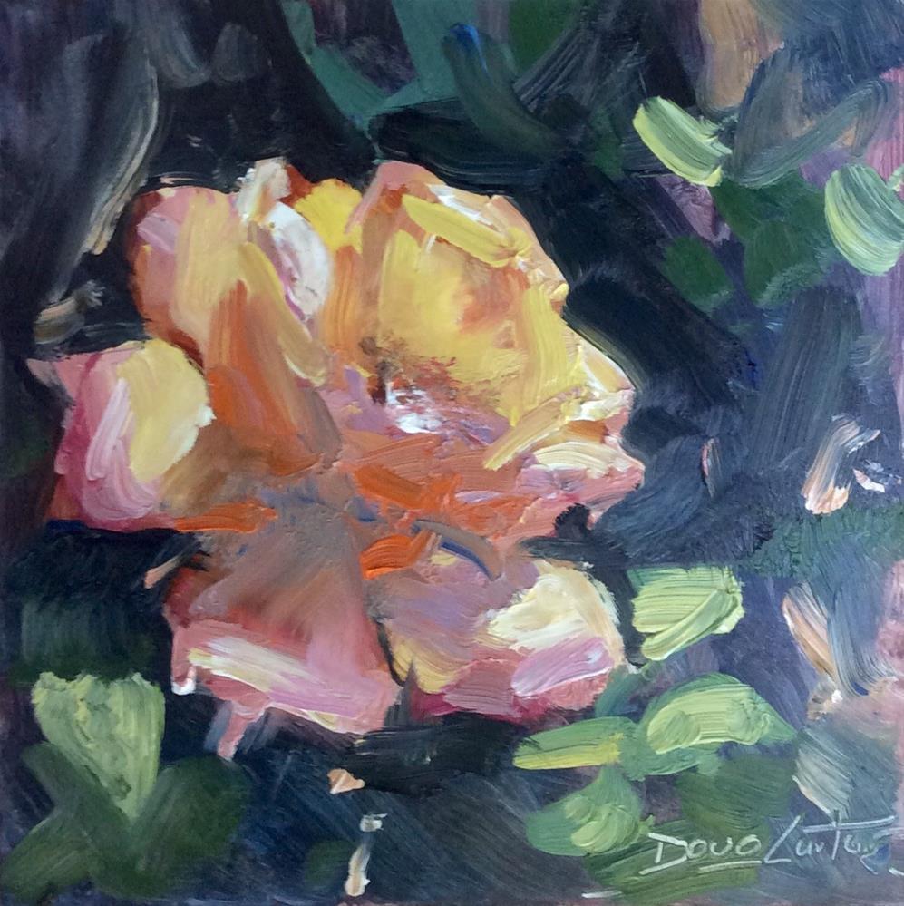 """GLISTENING"" original fine art by Doug Carter"