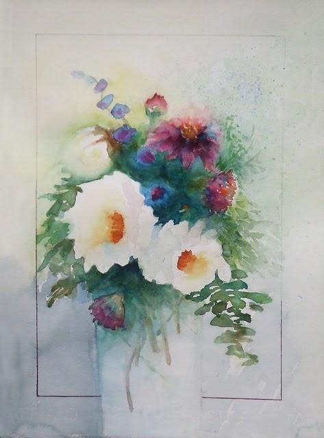 """""""5Mar016"""" original fine art by Mitsuru Cope"""
