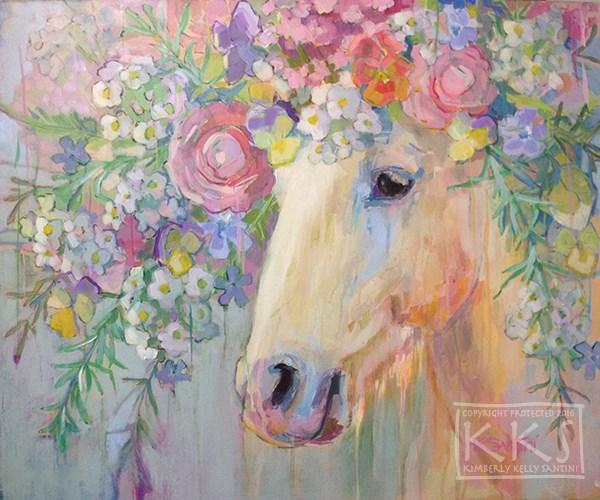 """Camargue Peace"" original fine art by Kimberly Santini"