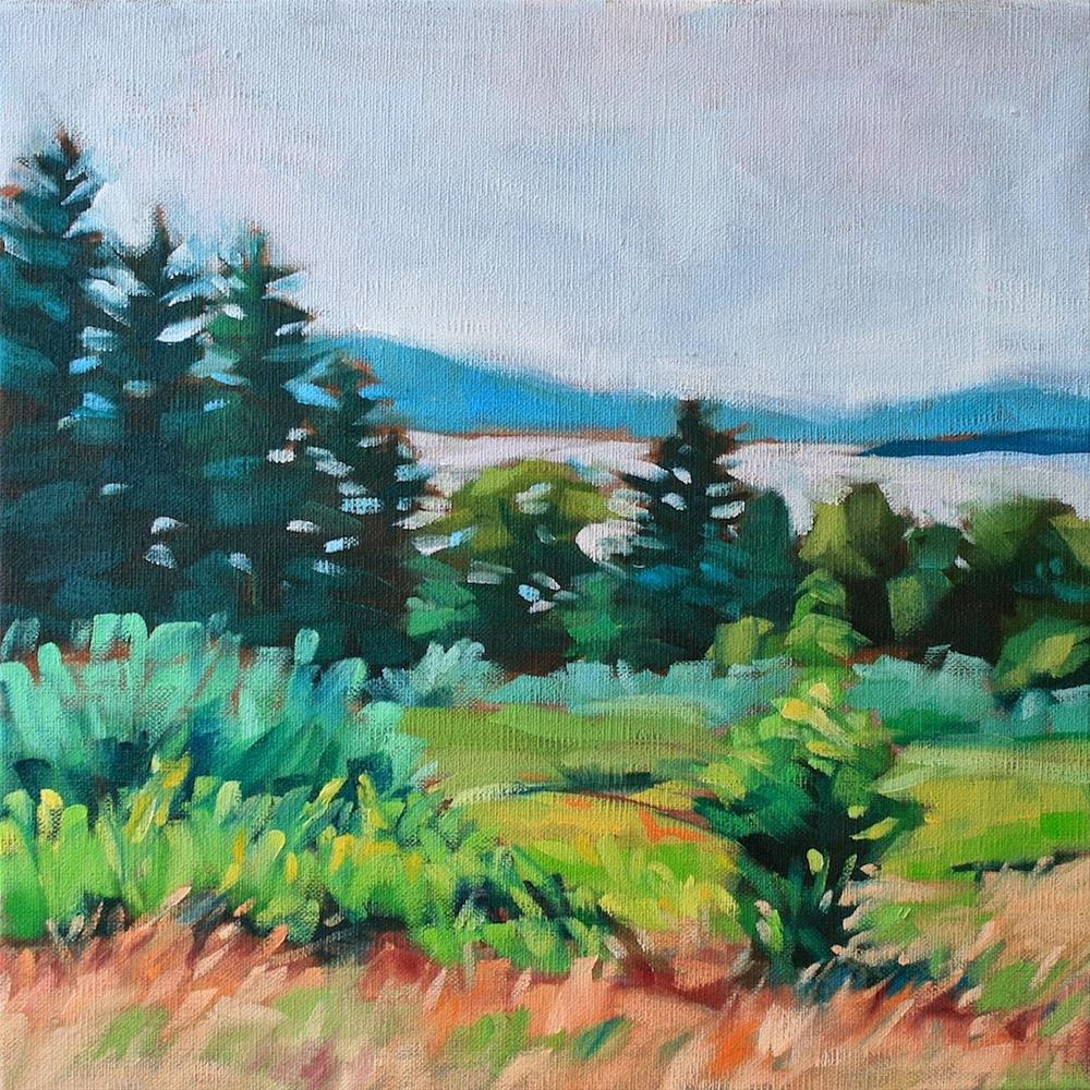 """Ten Miles Out"" original fine art by Mary Anne Cary"