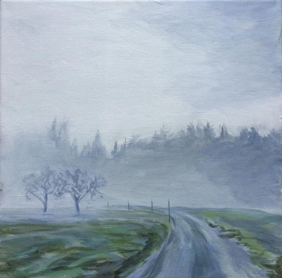 """Wistful"" original fine art by Lauren Kuhn"