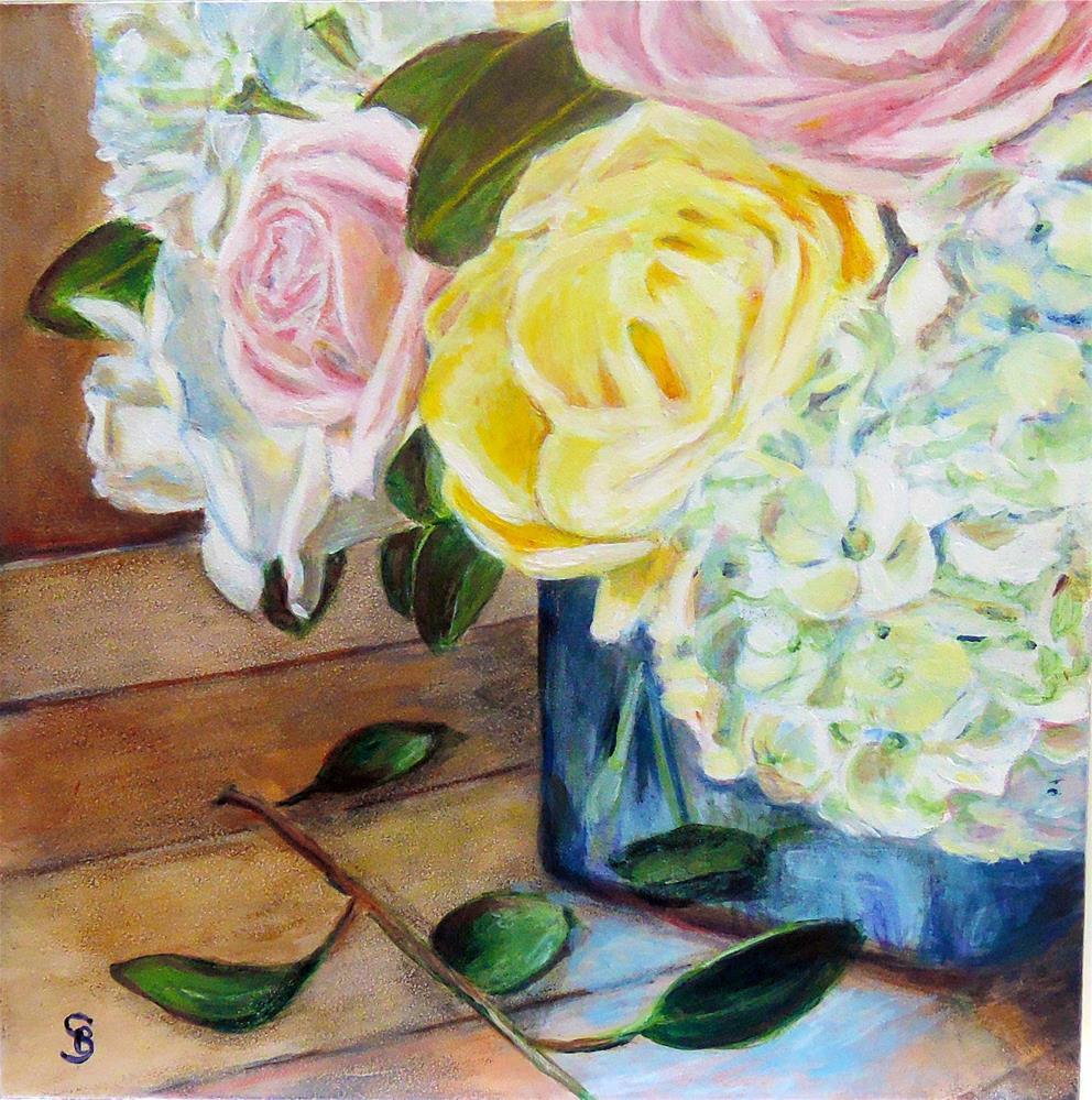 """""""Daughter's Gift"""" original fine art by Belinda Scheber"""