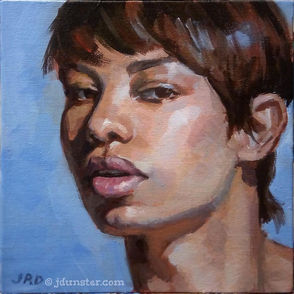"""""""Elegance"""" original fine art by J. Dunster"""