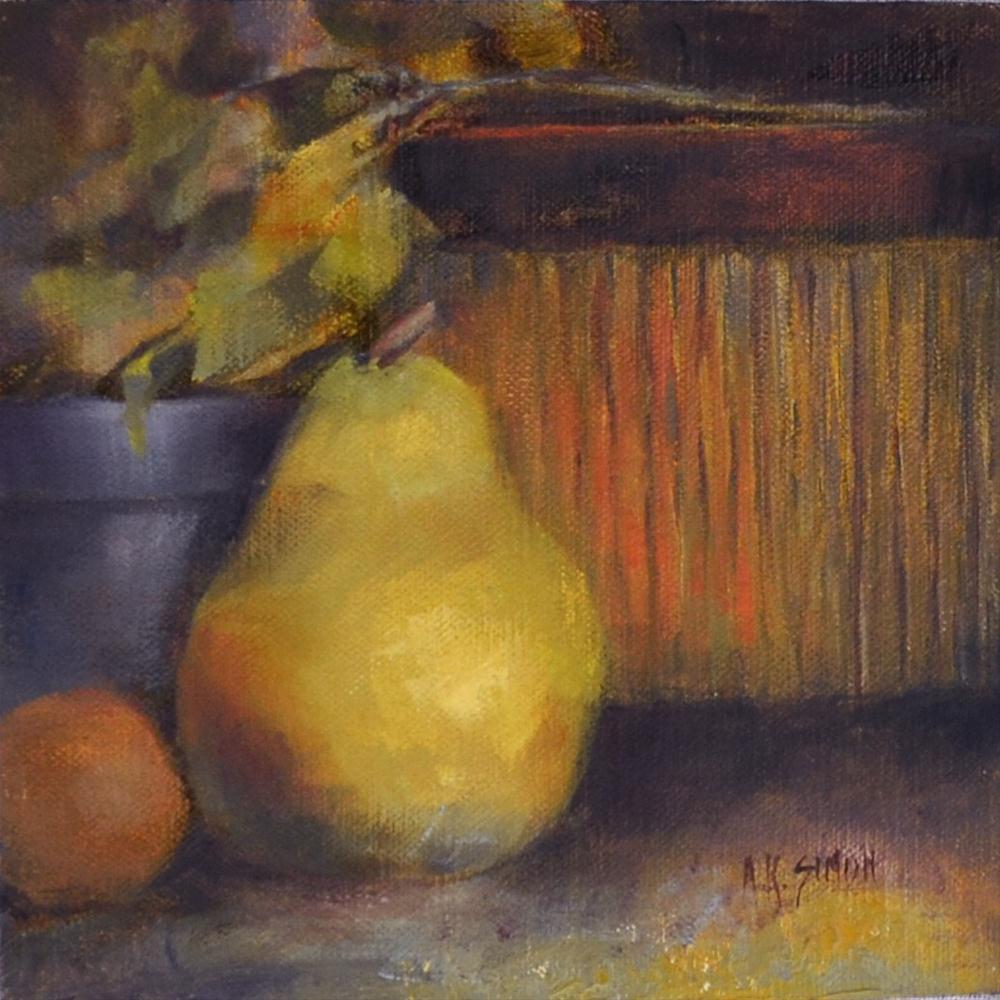 """""""D'Anjou"""" original fine art by A.K. Simon"""