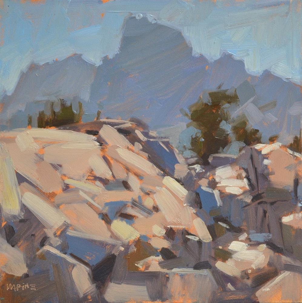 """""""High Sierra"""" original fine art by Carol Marine"""