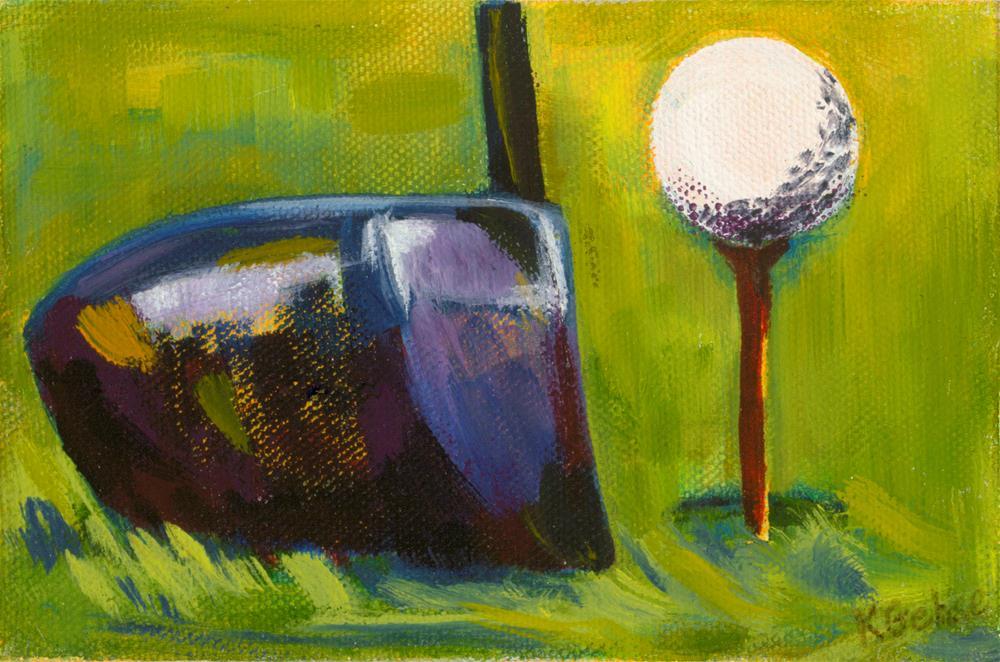 """Drive It"" original fine art by Karen Gehse"