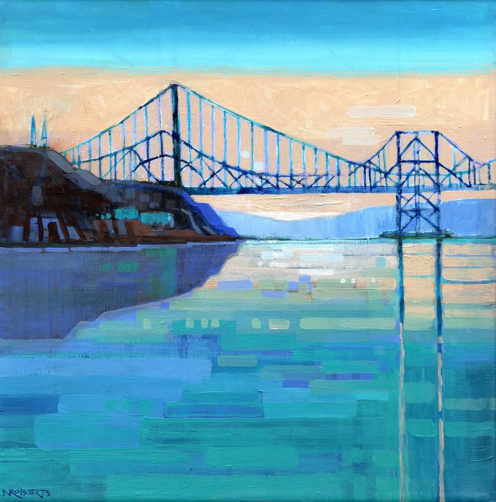 """Carquinez Afternoon"" original fine art by Nancy Roberts"