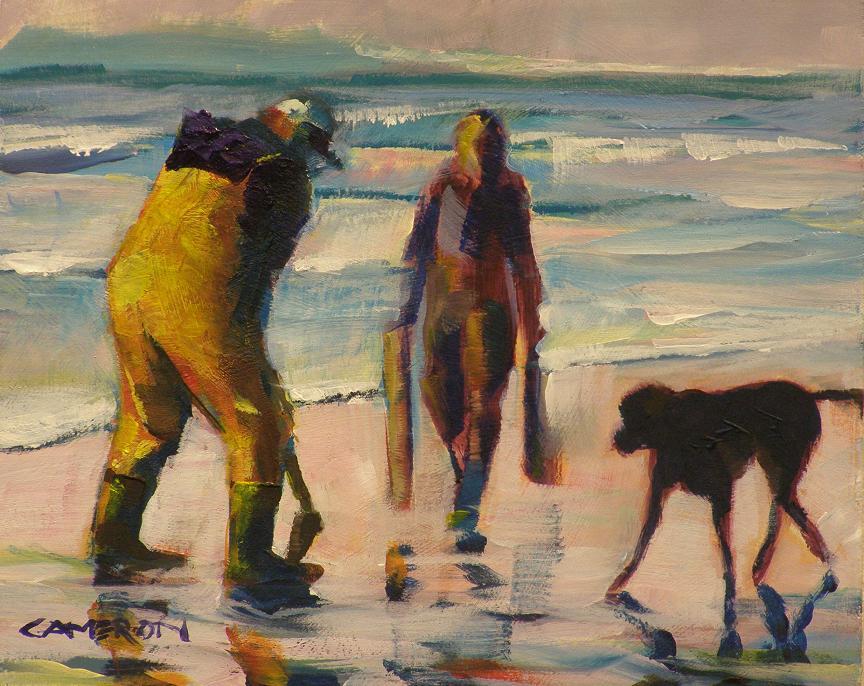"""""""MINUS TIDE"""" original fine art by Brian Cameron"""