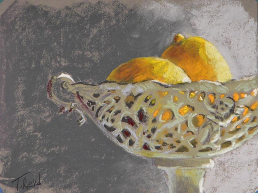 """""""Lemons"""" original fine art by Toby Reid"""