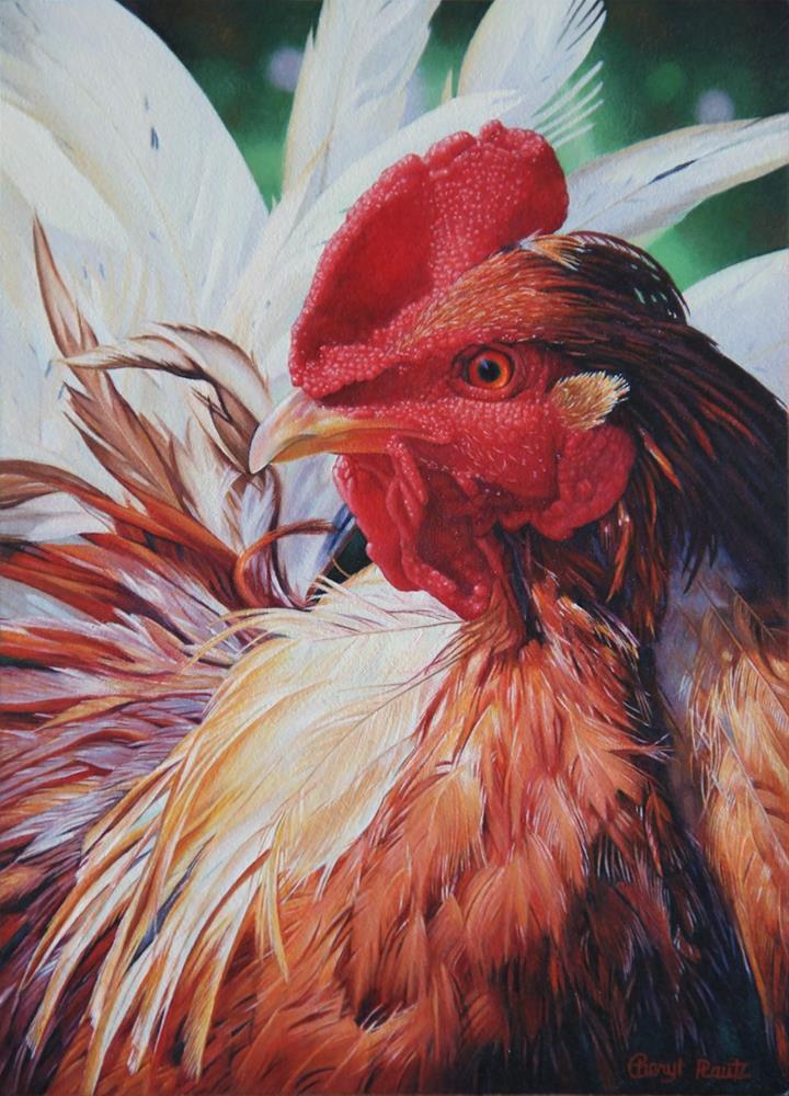 """Kooky"" original fine art by Cheryl Plautz"