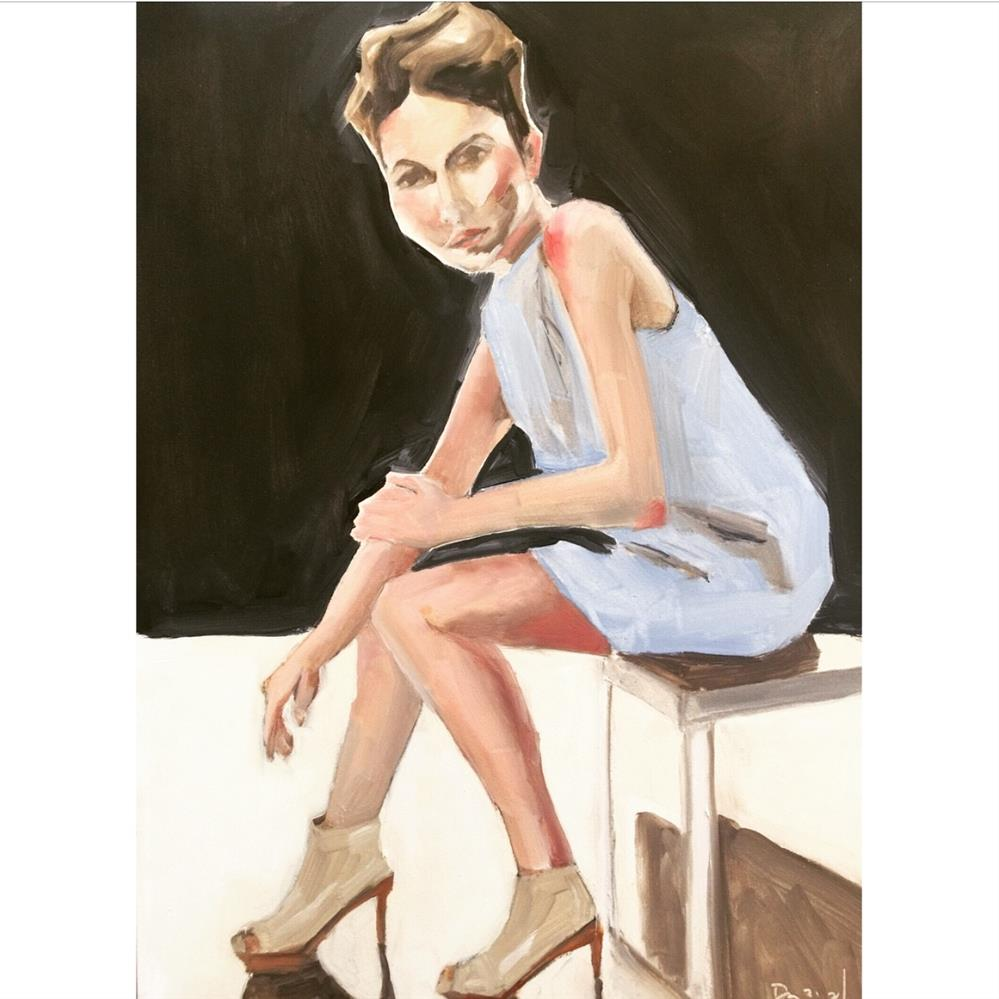 """651 Seconds Out"" original fine art by Jenny Doh"