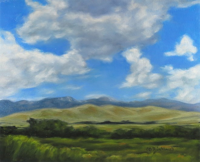 """Happy Breezes"" original fine art by Carol Zirkle"