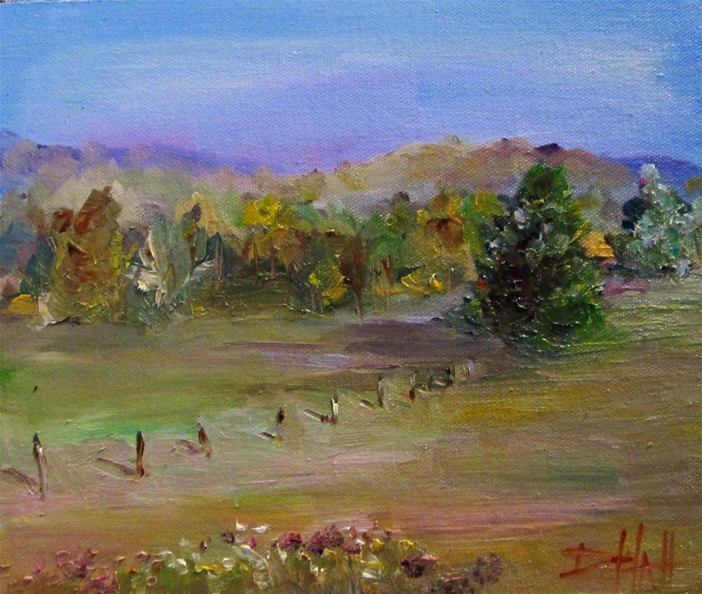 """Field at Sleeping Bear"" original fine art by Delilah Smith"