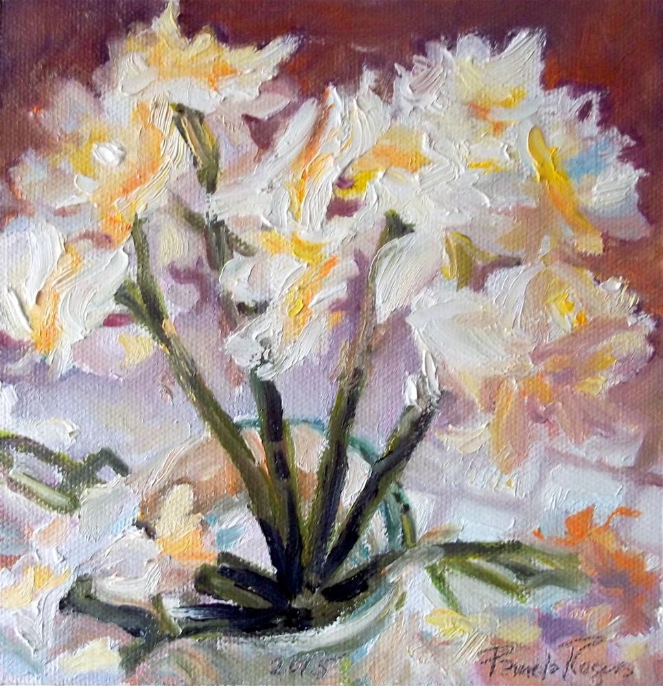 """Butterfly Narcissus"" original fine art by Pamela Jane Rogers"