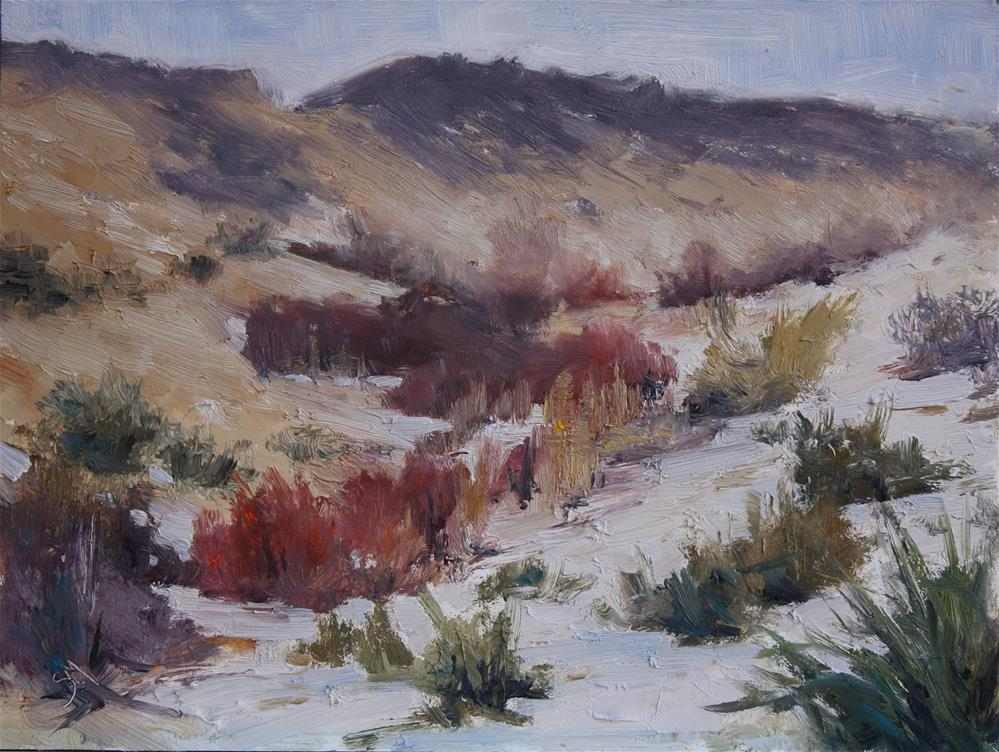 """West Side of the Hogback"" original fine art by Sheila Marie"