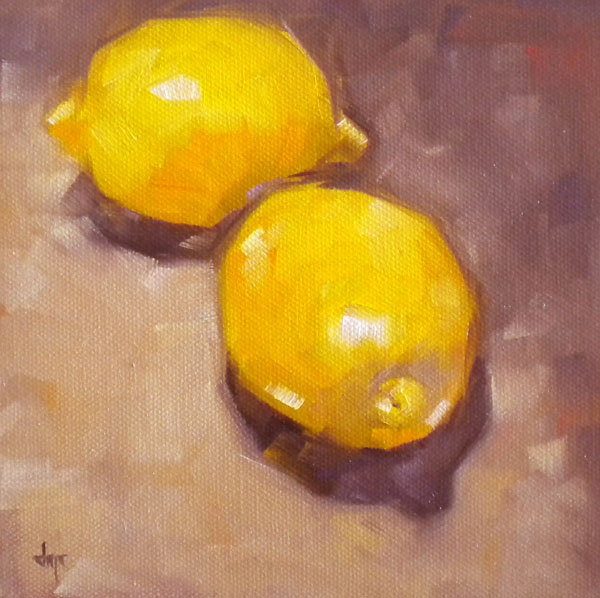 """Lemons"" original fine art by Darla McDowell"