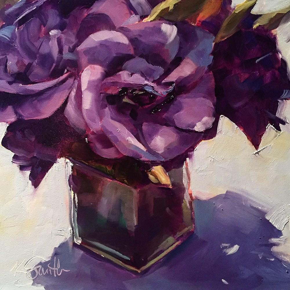 """""""swanky"""" original fine art by Kim Smith"""