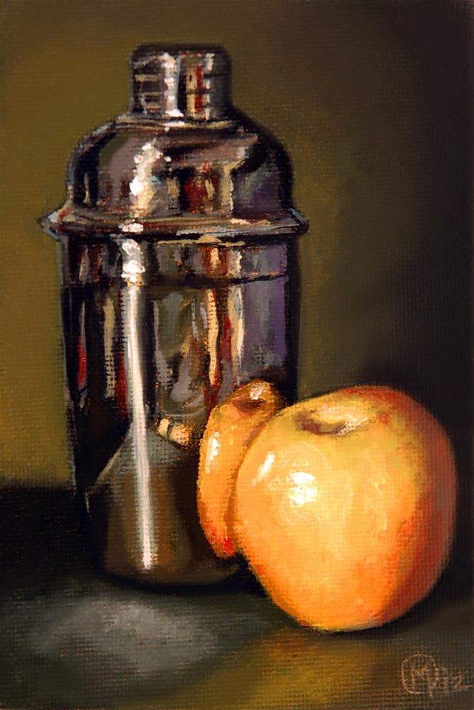 """Apple Martini"" original fine art by Maurice Morgan II"