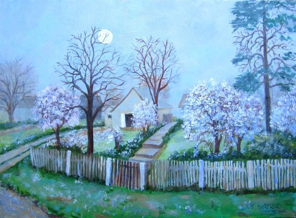 """""""Frosty Morning,   Croatia"""" original fine art by Patricia Musgrave"""