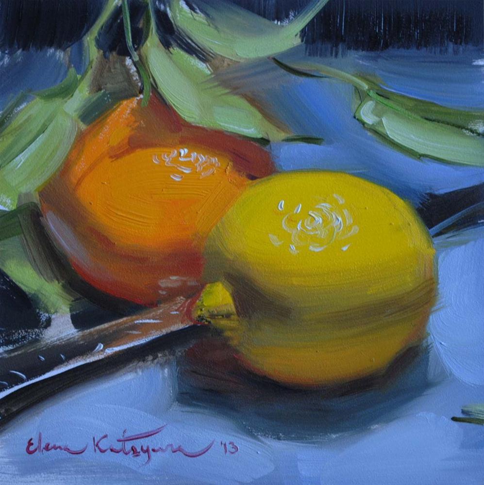 """Sweet & Sour"" original fine art by Elena Katsyura"