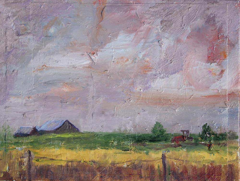 """""""Paris, Montana, Contemporary Landscape Paintings by Amy Whitehouse"""" original fine art by Amy Whitehouse"""