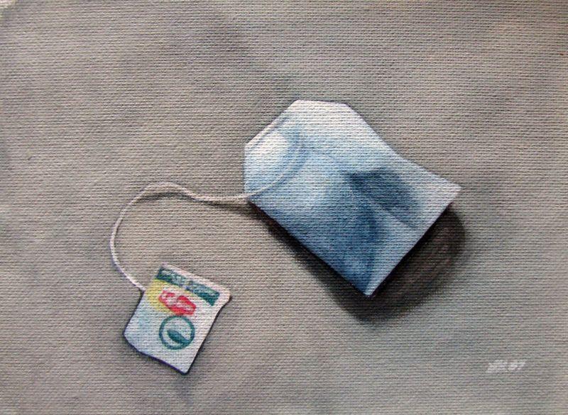 """Tea Anyone?"" original fine art by Lauren Pretorius"