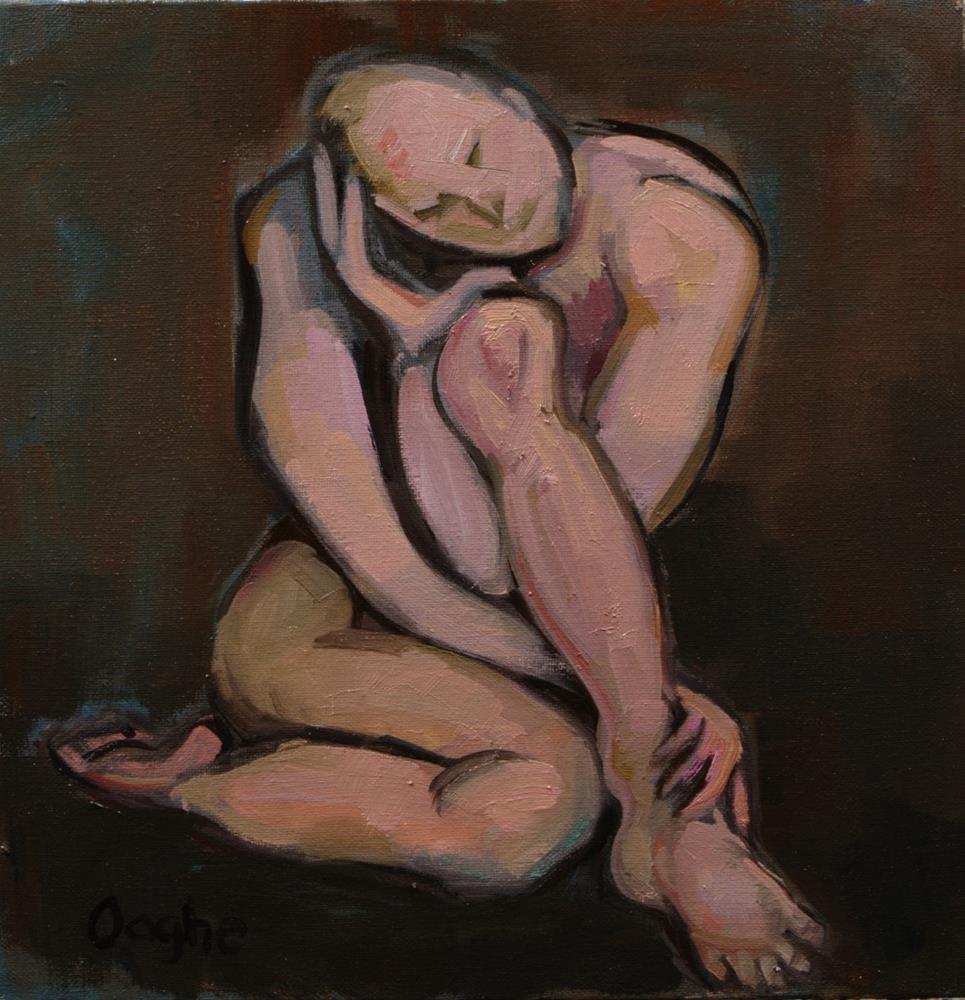 """""""Knotted Man"""" original fine art by Angela Ooghe"""