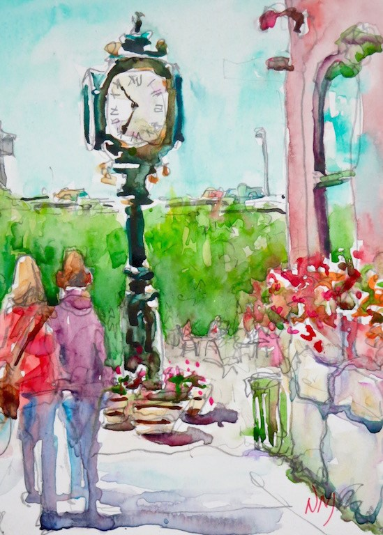 """""""it's about time"""" original fine art by Nora MacPhail"""
