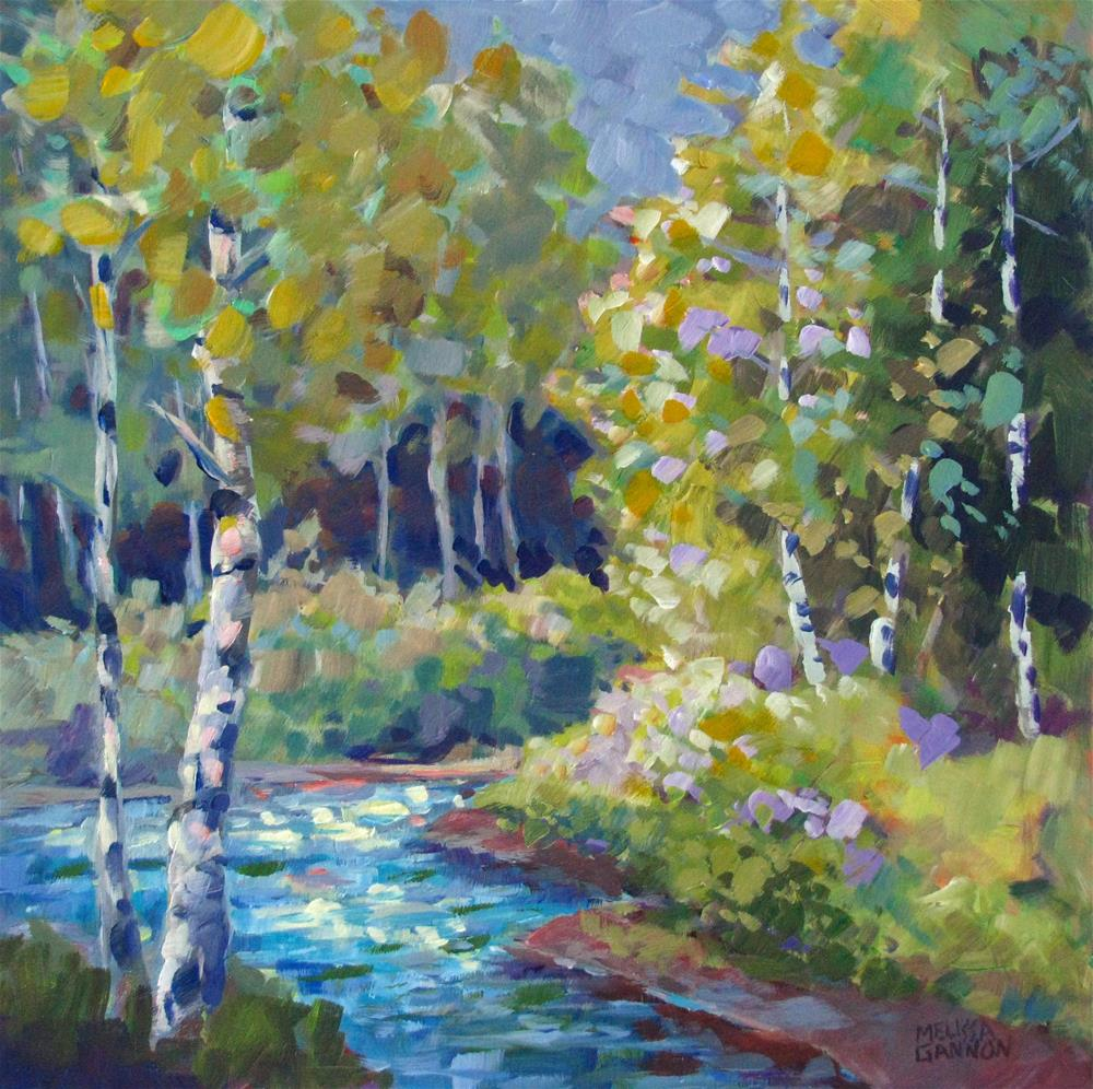 """""""River Guardians"""" original fine art by Melissa Gannon"""