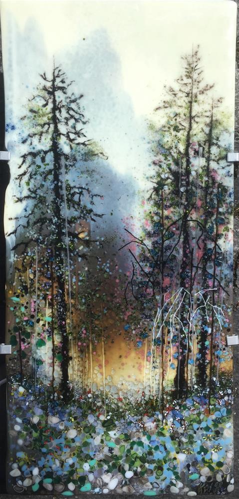 """Columbia Gorge"" original fine art by Kelly Alge"