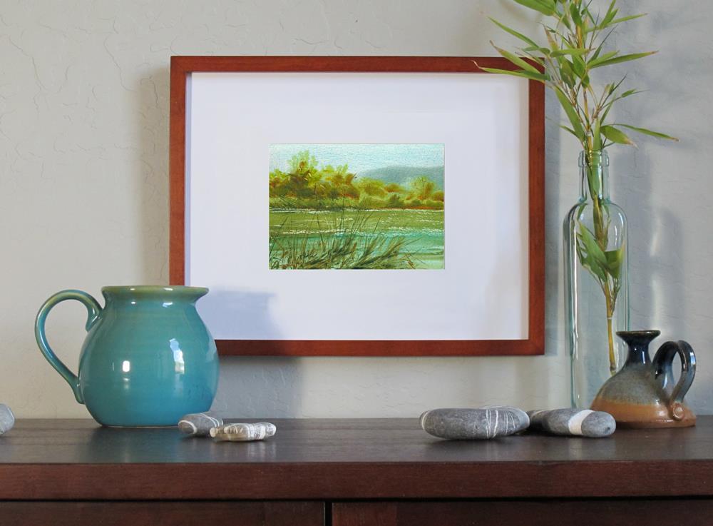 """Across the Way"" original fine art by Linda Henry"