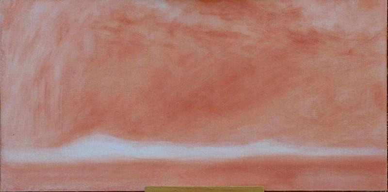 """""Evening Storm Passing Away"" (Oregon High Desert)"" original fine art by Steven Thor Johanneson"