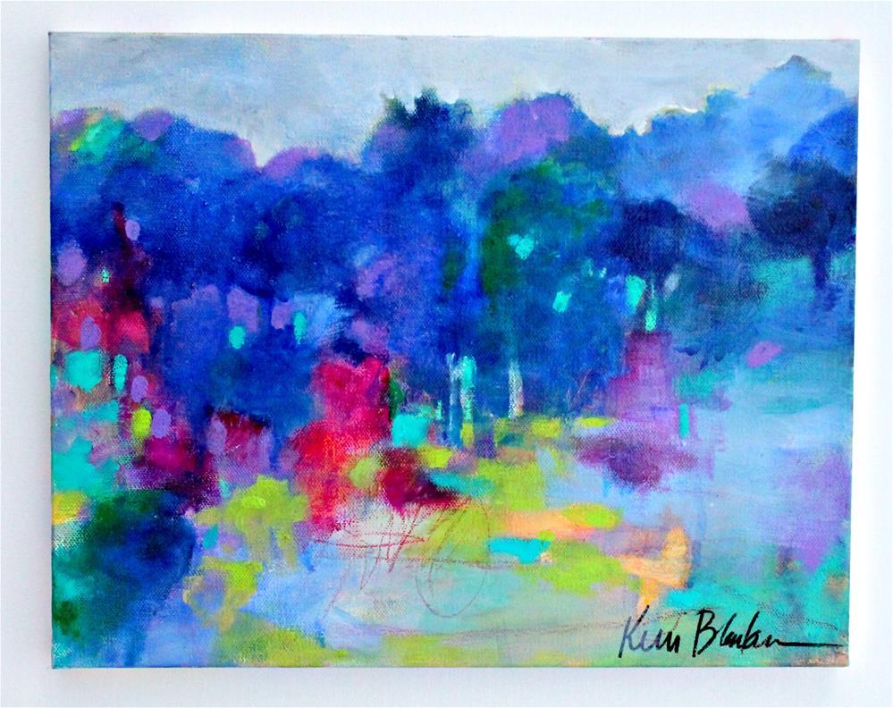 """Into the Trees "" original fine art by Kerri Blackman"