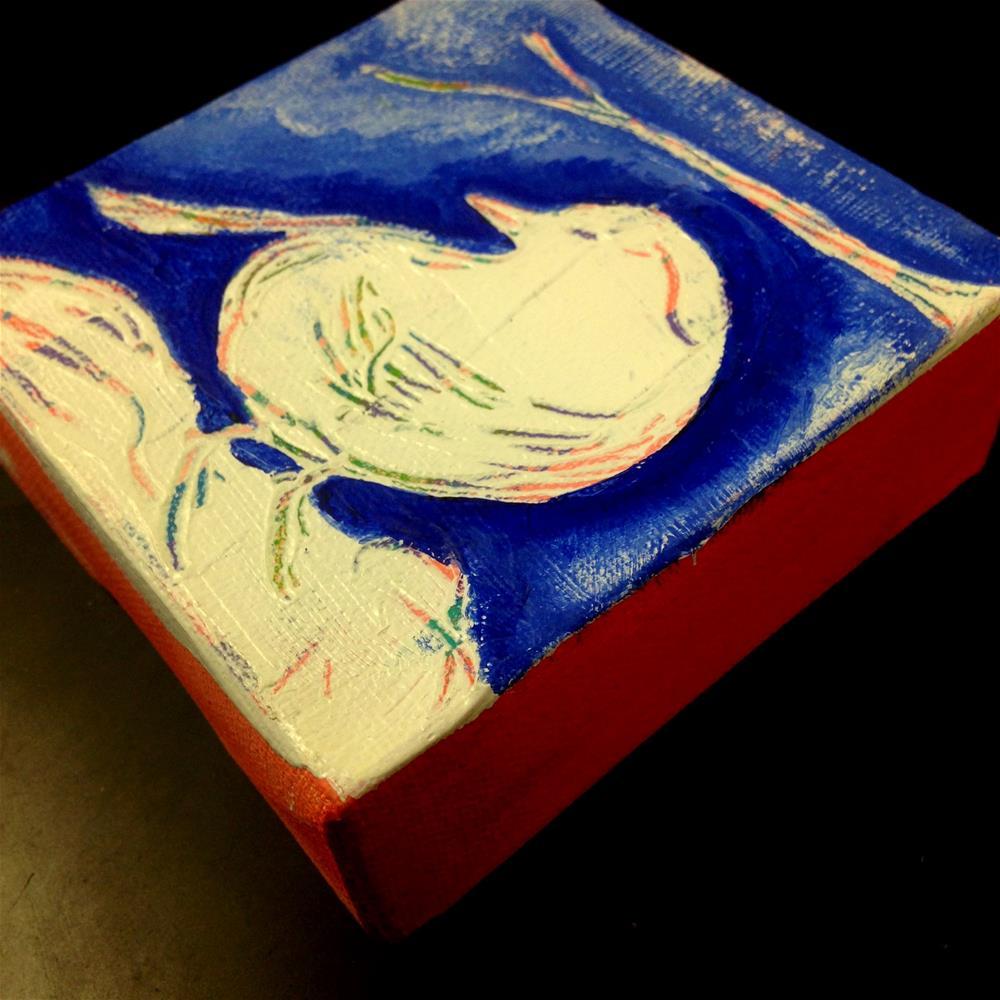 """In My Nest"" original fine art by Nicole Saunders"