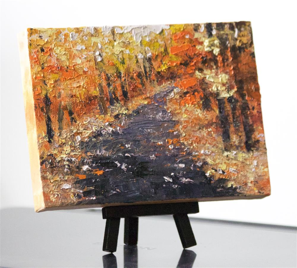 """Down the Road"" original fine art by Linda Eades Blackburn"