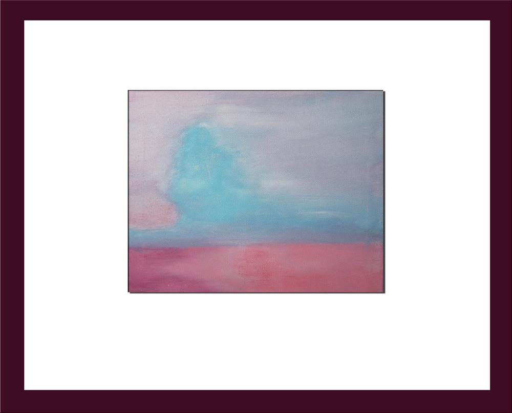 """Winter Dawn"" original fine art by Alina Frent"