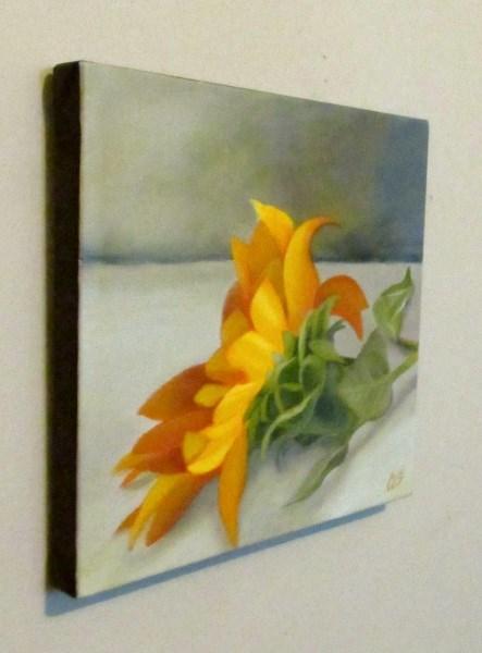 """""""Sunflower"""" original fine art by ~ces~ Christine E. S. Code"""