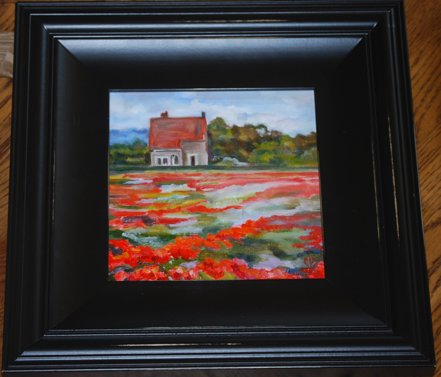 """Poppy Field"" original fine art by Carol DeMumbrum"