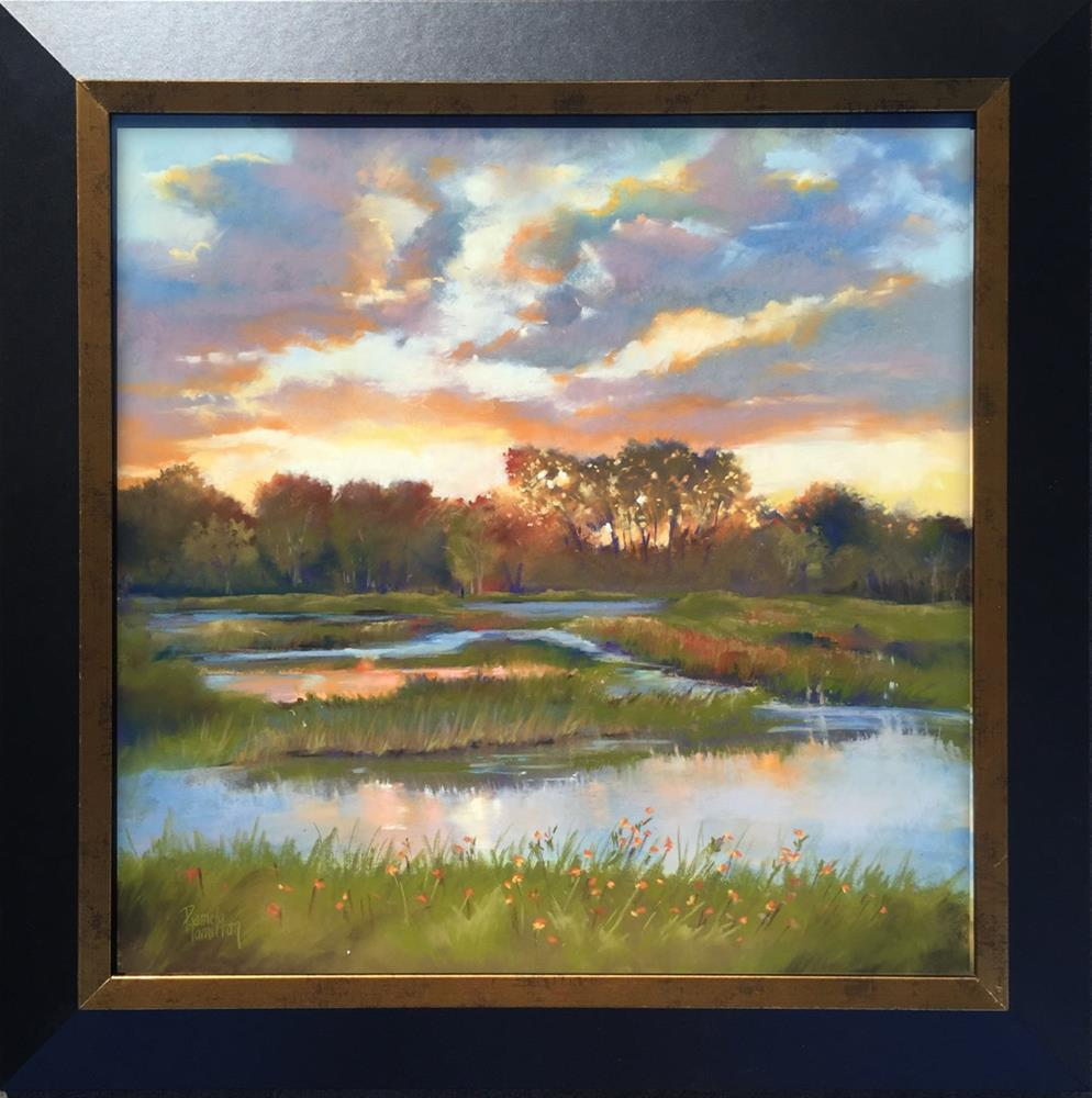 """Evening's Promise"" original fine art by Pamela Hamilton"