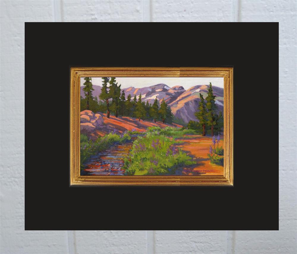 """Sonora Pass Stream"" original fine art by Rhett Regina Owings"