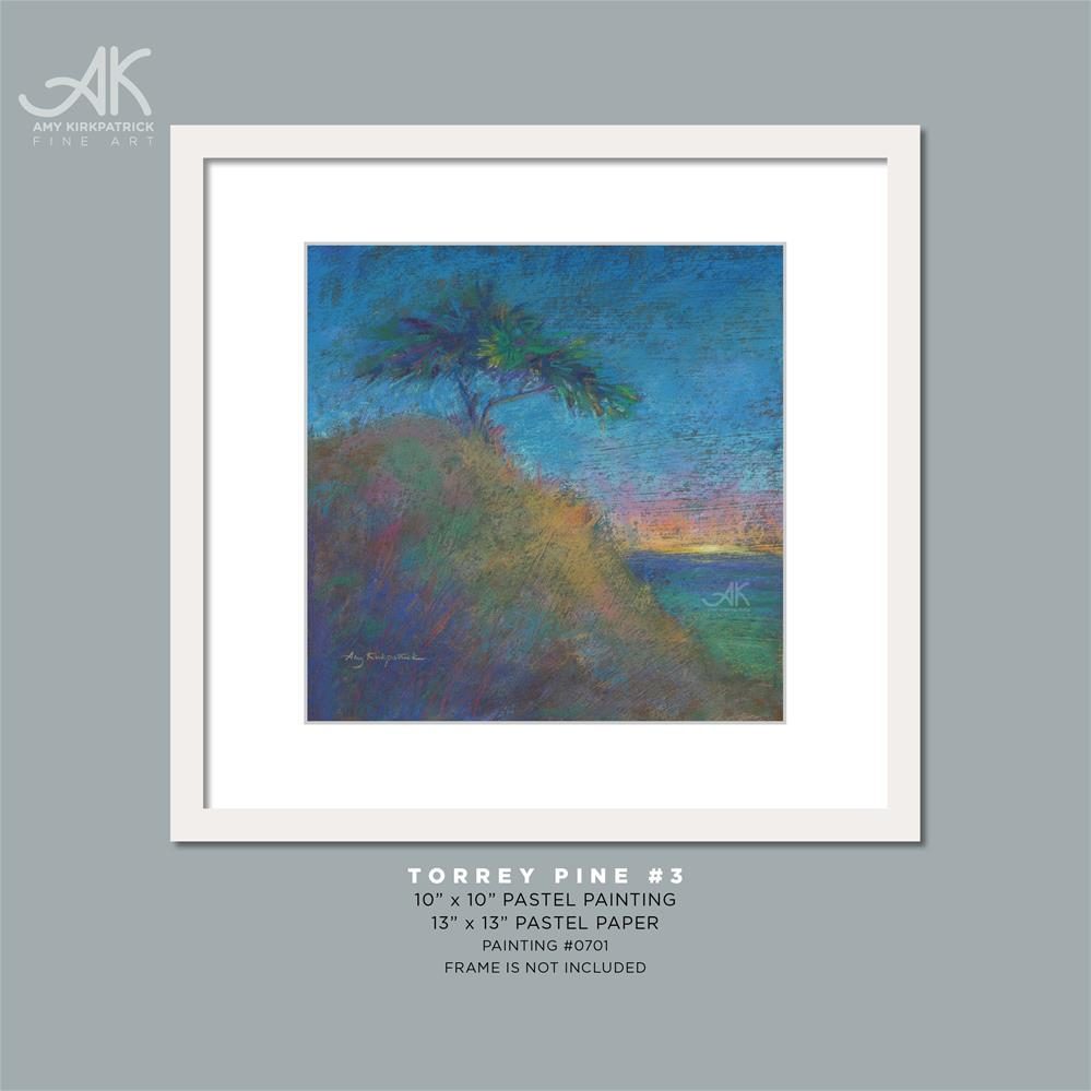 """TORREY PINE 3 #0701"" original fine art by Amy Kirkpatrick"